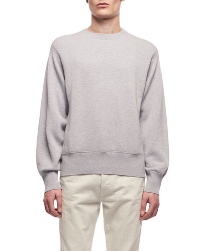 Men's Nicolas Crewneck Cotton-Cashmere Sweatshirt