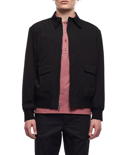 Men's Wes Zip-Front Wool Jacket