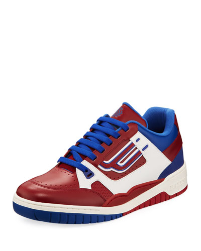 1a8e0dc26d8 The Champion Low-Top Leather Sneakers
