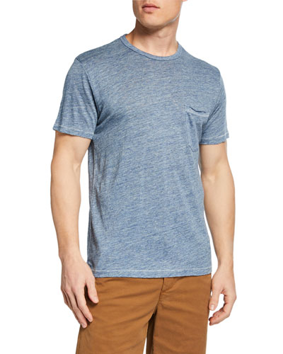 Men's Owen Heathered Pocket T-Shirt