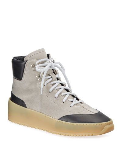 Men's 6th Collection Suede Hiker Sneakers