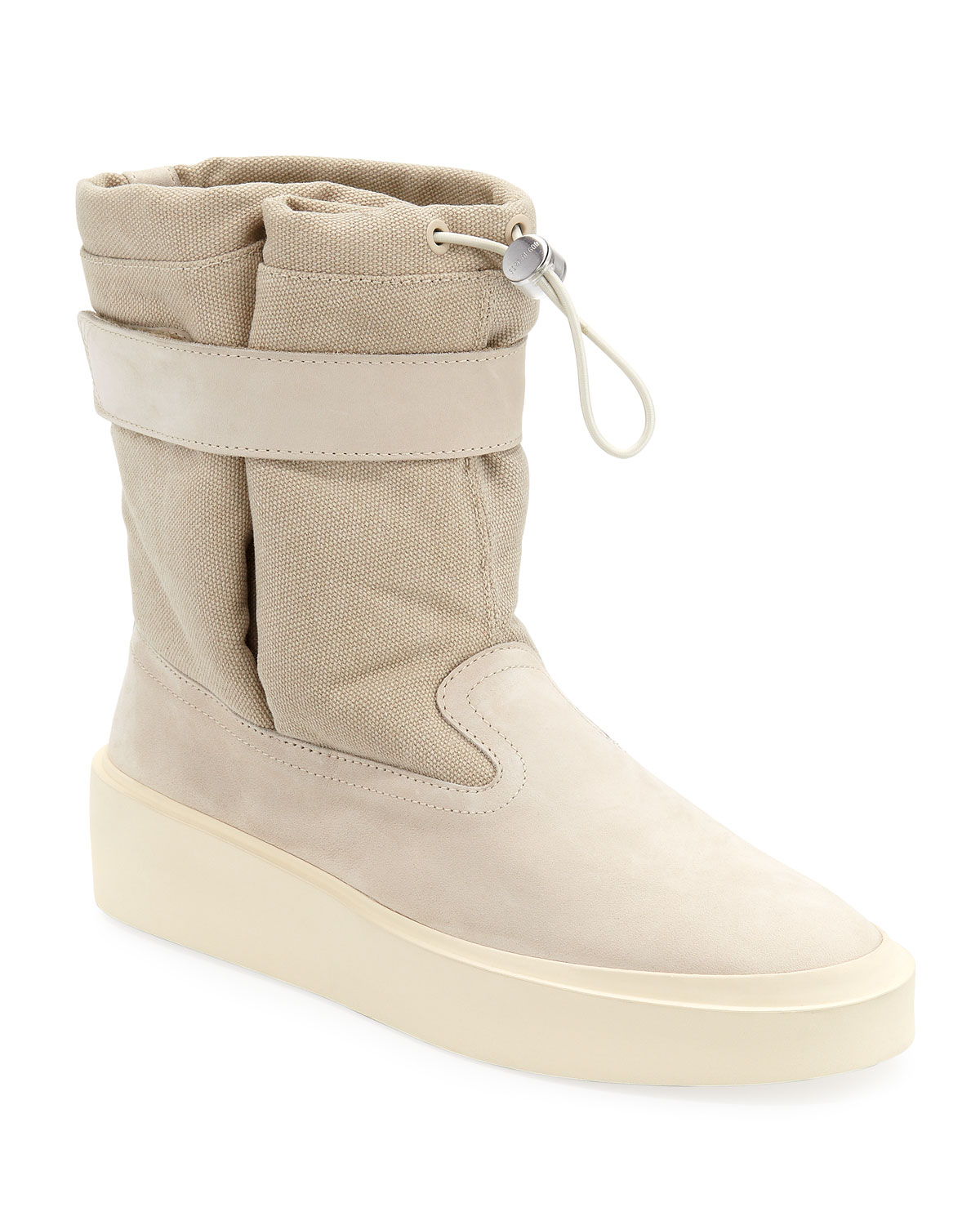 Fear Of God Sneakers MEN'S SKI LOUNGE SUEDE AND CANVAS SNEAKERS