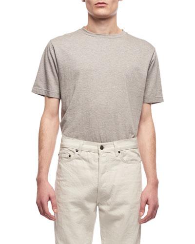Men's Ed Short-Sleeve Cotton-Cashmere T-Shirt