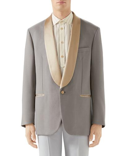 Men's Shawl-Collar Evening Jacket