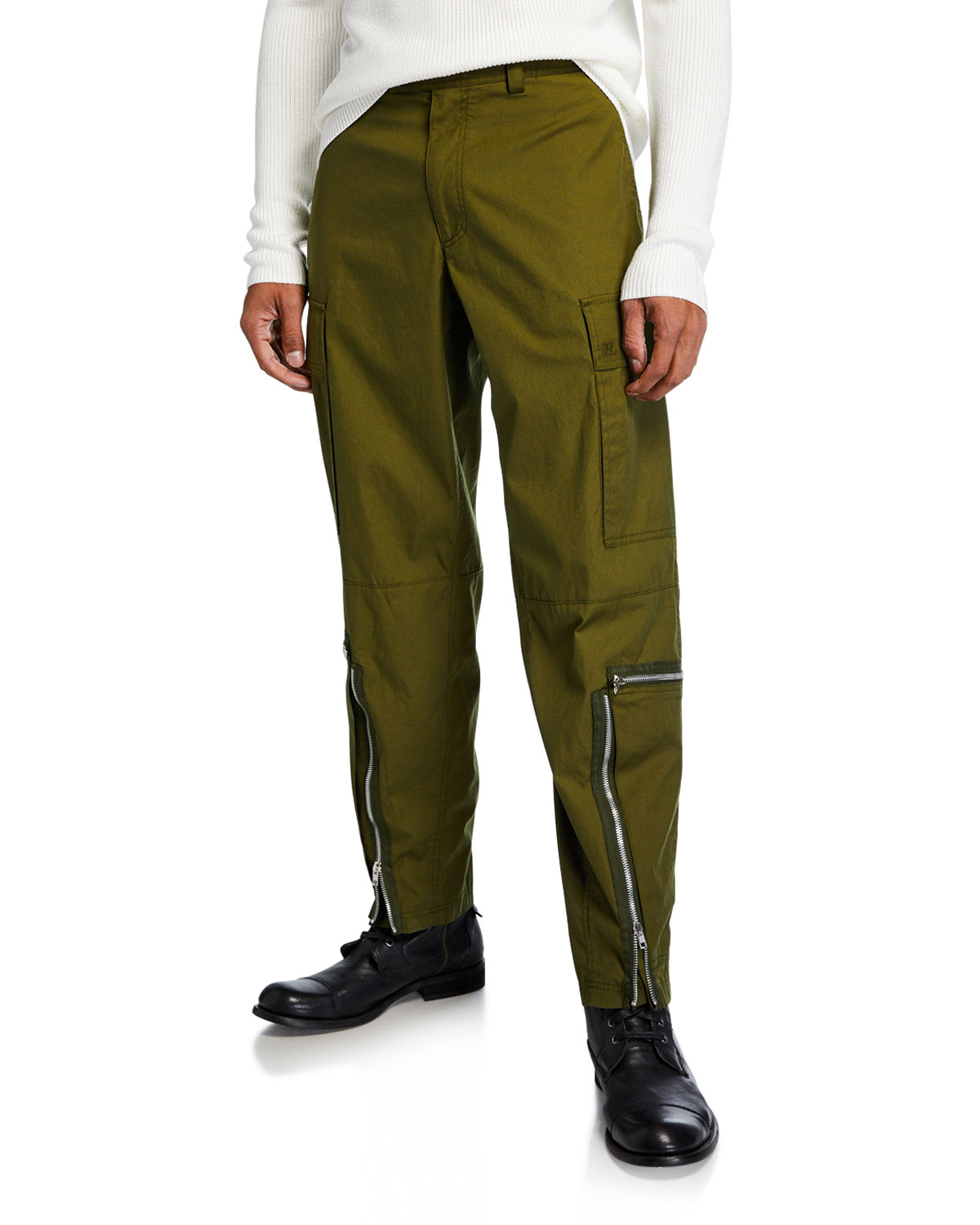 Helmut Lang Pants MEN'S AVIATOR PANTS