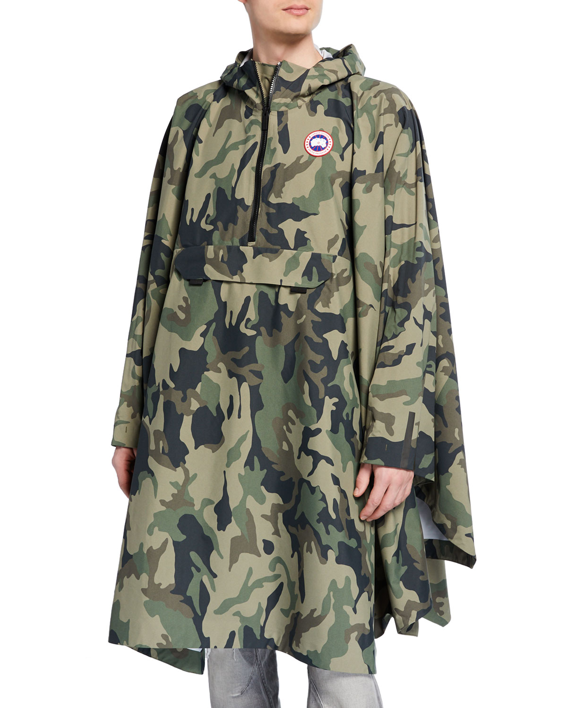 Canada Goose Coats MEN'S CAMO FIELD PONCHO