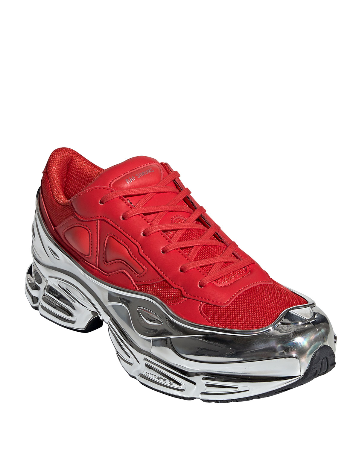 Adidas By Raf Simons Sneakers MEN'S OZWEEGO EXTRA-CHUNKY METALLIC DAD SNEAKERS