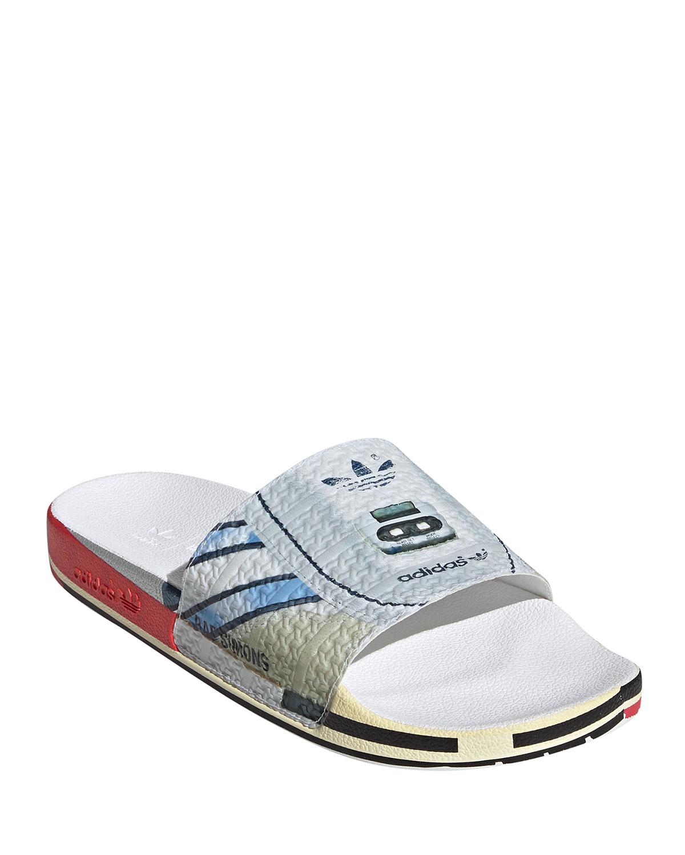 Adidas By Raf Simons Slippers MEN'S RS MICRO ADILETTE POOL SLIDES