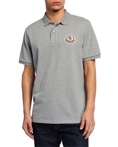Men's Logo-Applique Polo Shirt