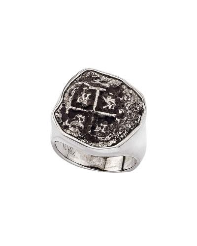 Men's Ancient Santa Rosa Coin Ring
