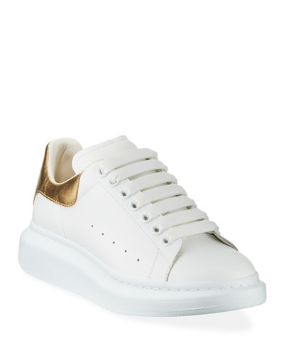 3d531203eb6b Men s Leather Platform Sneakers with Metallic Back Quick Look. Alexander  McQueen