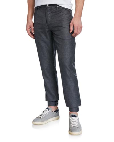 Men's 5-Pocket Wool Pants
