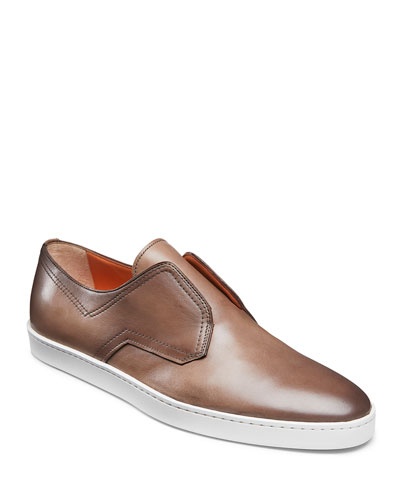 Men's Icarius Leather Low-Top Sneakers