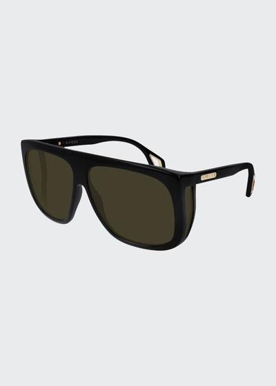 Men's Nylon Shield Sunglasses