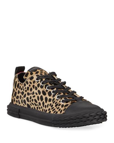 Men's Blabber Leopard Low-Top Sneakers