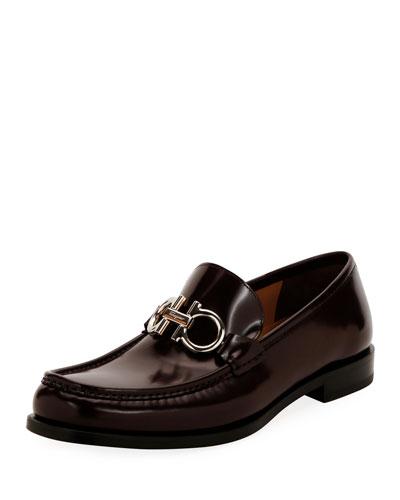 Men's Rolo Magnum Twist Leather Gancini Loafer