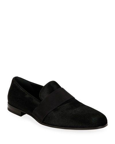 Men's Bryden Calf Hair Loafers