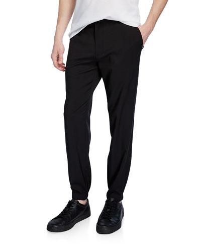 Men's Wool-Blend Jogger Pants