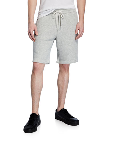 Men's Drawstring Cotton Sweat Shorts