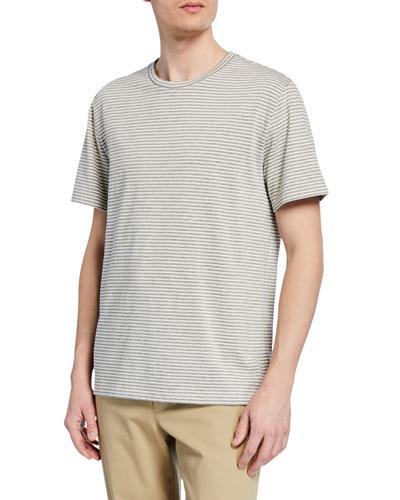 Men's Shadow Stripe Crewneck T-Shirt