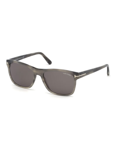 Men's Guilio Square Acetate Sunglasses