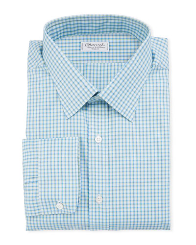 Men's Check Dress Shirt