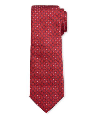 Men's Imperij Silk Tie, Red