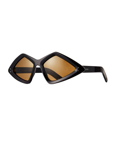 727a002a41 Men s Geometric Acetate Sunglasses Quick Look. Gucci