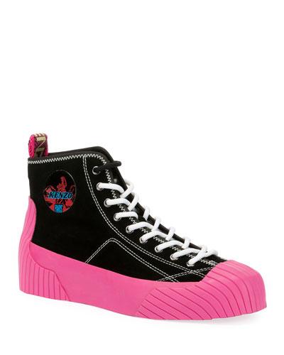 Men's Volkano High-Top Sneakers