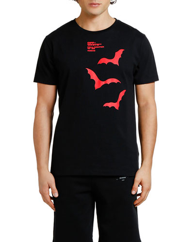 Men's Bats Graphic Slim T-Shirt