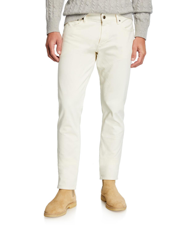 Ralph Lauren Pants MEN'S 5-POCKET SLIM PANTS