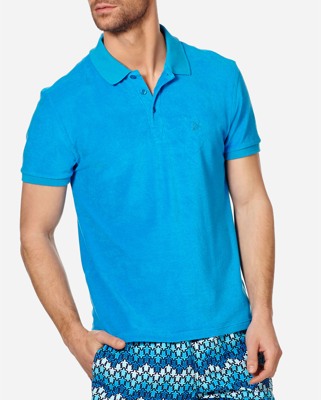 Vilebrequin T-shirts MEN'S TERRY CLOTH POLO SHIRT