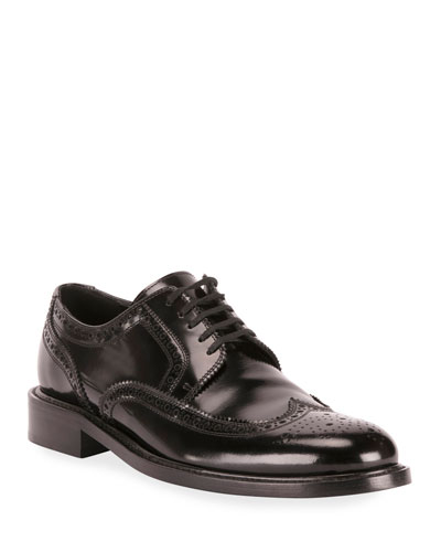 Men's Army 20 Leather Brogue Derby Shoes