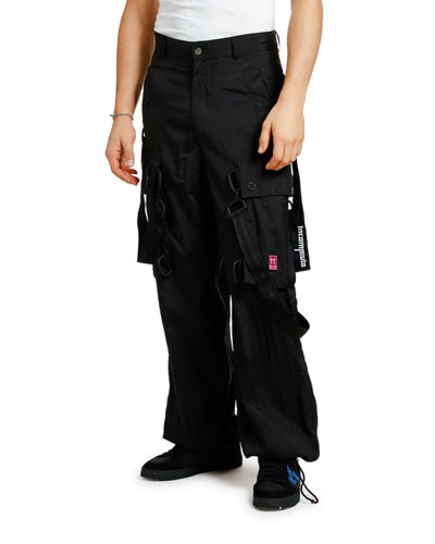 Men's Bondage Cargo Pants