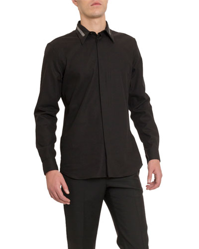 Men's Branded Collar Sport Shirt