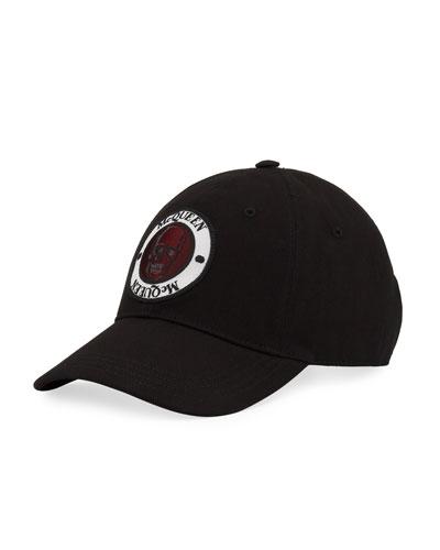Men's Logo Badge Baseball Hat