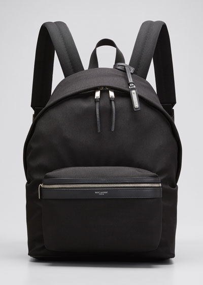 Men's City Canvas Backpack