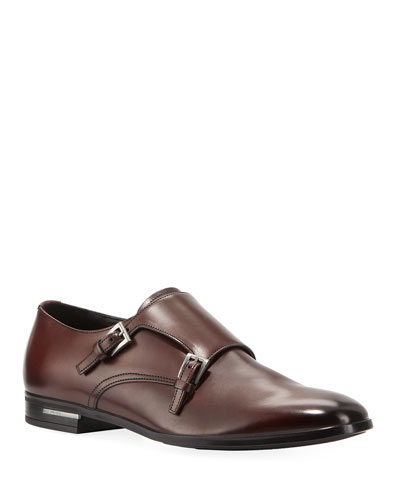 Men's Fondo Gomma Leather Penny Loafers