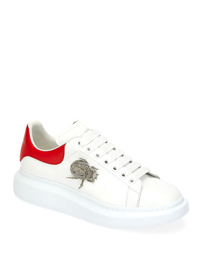 Men's Larry Beetle Ornament Platform Sneakers