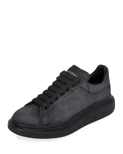 Men's Larry Tonal Suede Trainer Sneakers