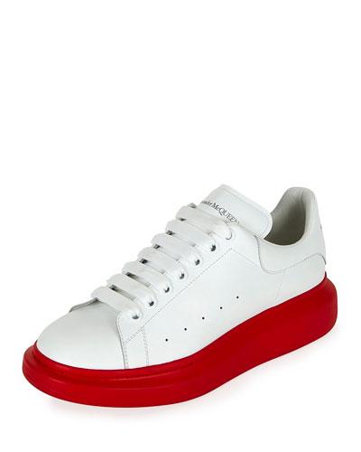 Men's Larry Contrast Sole Platform Sneakers