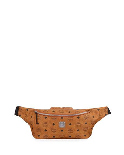 Men's Jemison Visetos Medium Belt Bag/Fanny Pack