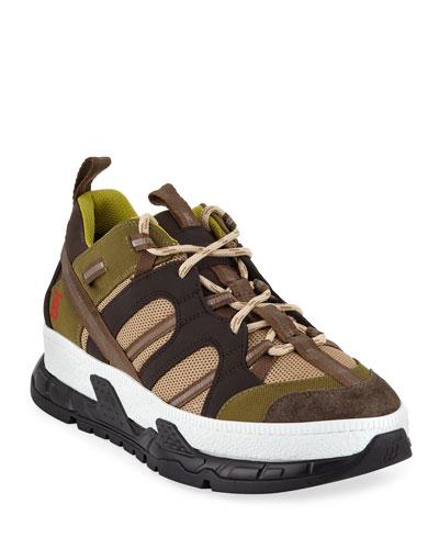 Men's RS5 Version 14 Icon-Stripe Trainer Sneakers