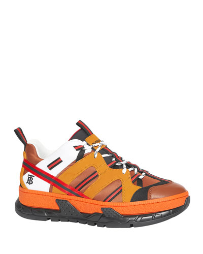 Men's RS5 Icon-Stripe Trainer Sneakers