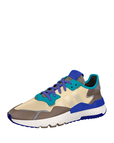 Men's Nite Jogger Multicolor Leather Trainer Sneakers