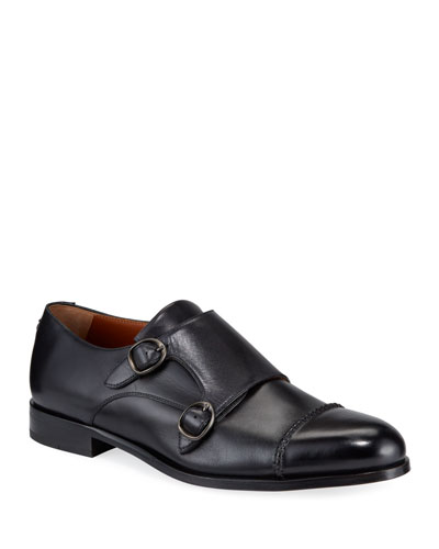 Men's Parma Double-Monk Loafers