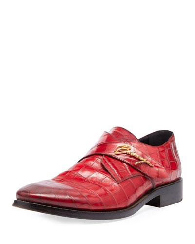 Runway Monk-Strap Shoe