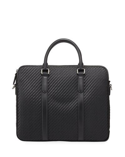 Men's Pelle Tessuta Business Bag