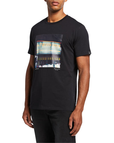 Men's Fashion House Graphic T-Shirt
