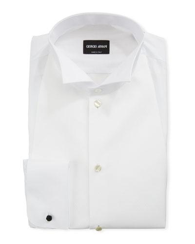 Men's Bib-Front Formal Shirt